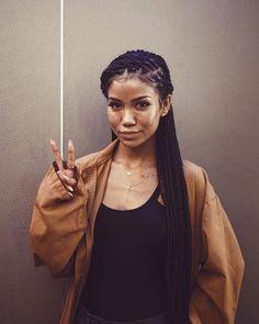 Jhené Aiko braids