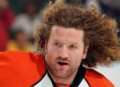 Scott Hartnell has some crazy hair