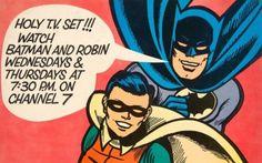 Holy Batman and Robin.I Loved your show! Batman 1966, Batman And Superman, Batman Comics, Batman Robin, Batman Show, Batman Tv Series, Kids Pop, Nostalgic Images, Morning Cartoon