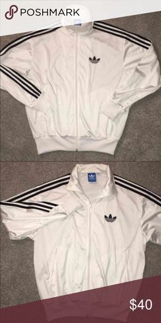 ADIDAS FULL ZIP Men's M ADIDAS FULL ZIP Men's M. Great condition. No stains/ rips Adidas Jackets & Coats Lightweight & Shirt Jackets