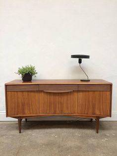 Vintage Rosewood Sideboard by Elliotts of Newbury Sideboard.