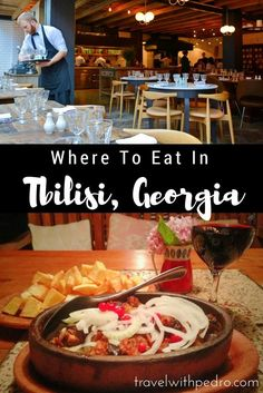 My list of 20 favourite places to eat in Tbilisi, Georgia: all tried and approved! Travel in Asia.