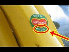 【衝撃】このシールが貼られたフルーツはマジで危険!!買ってはいけない理由がヤバい【知らないと損をする】 - YouTube