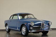 Bumped to 2L: 1958 Alfa Romeo Giulietta Sprint Veloce