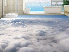 46.99$  Watch here - http://aliqdv.worldwells.pw/go.php?t=32708461076 - 3D adhesive for flooring custom photo flooring 3d beautiful atmosphere flooring pvc waterproof bathroom 46.99$