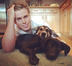 Update on the Sochi Rescued Pups  --  Dog Dad Gus Kenworthy Continues To Prove Why He's Swoon-Worthy