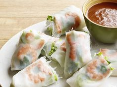 Shrimp Summer Rolls recipe from Food Network Kitchen via Food Network