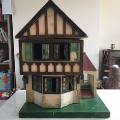Vintage Triang Double Story Dolls House. Highly Collectable. .....Rick Maccione-Dollhouse Builder www.dollhousemansions.com