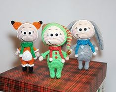 Ready to ship Crochet soft dolls in costumes of fox rabbit elf Christmas decor Toys in animals' outfit New Year's gift Present for children The Effective Pictures We Offer You About fantasy crochet to Christmas Elf, Christmas Ornaments, Fox And Rabbit, Presents For Kids, Bunny Toys, Christmas Decorations, Holiday Decor, New Year Gifts, Soft Dolls