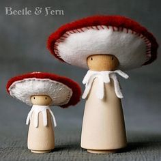 gnome nativity figures | 1000+ images about peg dolls! on Pinterest | Gnomes, Wooden pegs and ...
