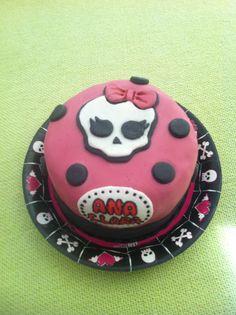 Monster High Cake Pasta Americana