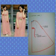 What I'm Sewing: Practical Maxi Dress Up (Sewing, Fashion, Design Pattern Drafting Tutorials, Sewing Tutorials, Dress Sewing Patterns, Clothing Patterns, Fashion Sewing, Diy Fashion, Sewing Clothes, Diy Clothes, Kaftan Pattern