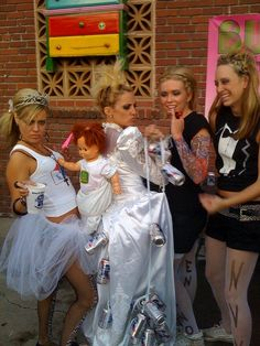 White Trash Wedding by Reno eNVy, via Flickr. This is funny :)) Someone nailed it, ha ha......this didnt happen to Me :( too bad she has had an unhappy life ever since. She texts. Sad sad #unmasked