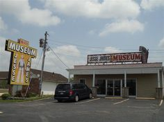 The Jesse James Wax Museum on old Route 66, along I-44, features guns, posters and plenty of Jesse James-related memorabilia — including wax figures.
