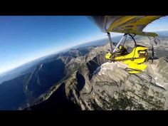 Spectacular Flight through Cabinet Mountains, Montana with Ultralight Trikes - YouTube