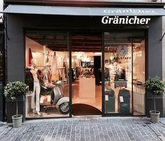 Luzern, Gränicher, Frauen, Style, Well curated women and mens Fashion in Seitzerland.  Schaufenster, window, shopping ,... Shops, Belstaff, Urban Fashion, Lucerne, Man Fashion, Store Windows, Men And Women, Tents, Retail