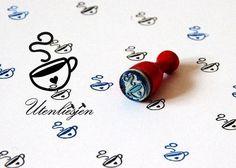 Ministempel - Kaffeetasse Stempel - ein Designerstück von Utenliesjen bei DaWanda