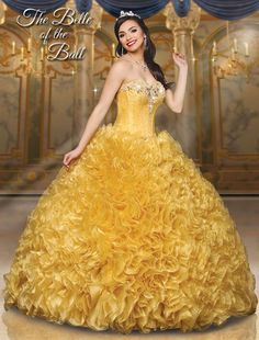 747fba2e37 Princess Belle 41060 Disney Royal Ball Quinceañera Dress available at  Dresses By Russo!