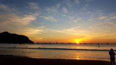 Atardecer playa san juan del sur