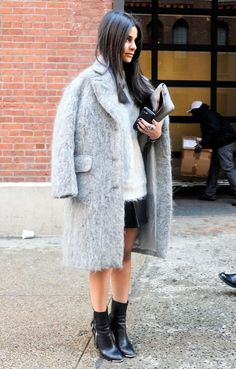 Street Style - Day 1 - New York Fashion Week Fall 2014