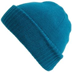 Modena Double Knit Beanie ($9.97) ❤ liked on Polyvore featuring accessories, hats, teal, teal hat, beanie cap, beanie cap hat, beanie hats and modena