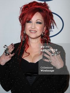 "dielikeabitch: "" Cyndi Lauper arrives at the Clive Davis And The Recording Academy Annual Pre-GRAMMY Gala at The Beverly Hilton Hotel on January 25, 2014 in Beverly Hills, California. """