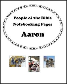 NEW BIBLE DOWNLOADS available! People of the Bible Notebooking pages ~ Just added Aaron, Abel, and Abraham. Previews available! Download Club members can download @ http://www.christianhomeschoolhub.com/pt/People-of-the-Bible-Notebooking-Pages/wiki.htm Not a Download Club member? Annual and Lifetime subscriptions available @ http://www.christianhomeschoolhub.com/?page=base&cmd=signup