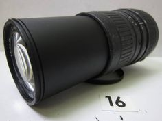 L55CB SIGMA ZOOM 100-300mm F4.5-6.7 DL φ55 ジャンク_画像1