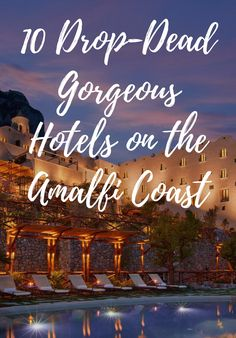 Michelin-starred restaurants, glam pool scenes, and unparalleled ocean views. Travel Ideas, Travel Inspiration, Travel Tips, Hotels And Resorts, Best Hotels, Ocean Views, Sit Back And Relax, Italy Vacation, What To Pack