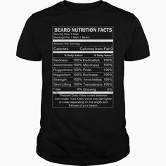 Beard Nutrition Facts Tees & Hoodies Tshirt Order HERE ==> https://www.sunfrog.com/Names/265899662.html?41088 Please tag & share with your friends who would love it  #birthdaygifts #xmasgifts #jeepsafari