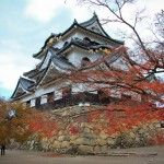 Hikone castle and garden