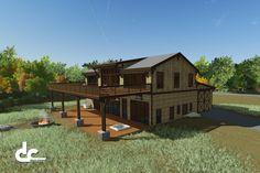 Luxury Barn Home In Gainesville, Georgia - DC Builders