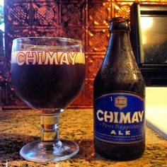 Bleue by Chimay Brewery; Chimay, Belgium.