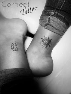 Sun & moon 😜 #sunandmoon #sunandmoontattoo