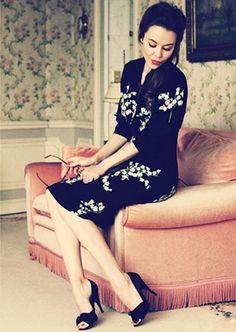 ulyana sergeenko clothing | Ulyana Sergeenko. Her fashion design and person style are everything I ...