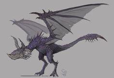 Yian Garuga, the Black Wolf Bird by Halycon450.deviantart.com on @DeviantArt