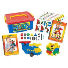 ThinkPlay STEM Junior collection is an international award-winning construction system with outstanding educational uses. Stack them or interlock them on their sides, Thinkplay square bricks are the same size as traditional middle-size bricks.