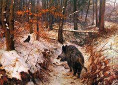 Rien Poortvliet.  Het bos                                       lb xxx.