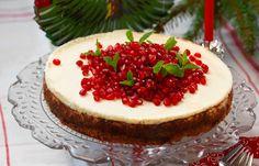 Julfin glutenfri cheesecake