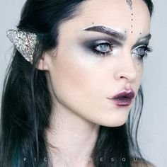 Regina from @picturresque used Furless loose pigment in Counterfeit for the silver in this look. Shop: http://furlesscosmetics.com/silver-loose-eyeshadow-pigment/