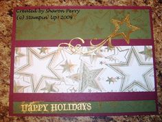 Shooting Star by ladybug.820 - Cards and Paper Crafts at Splitcoaststampers