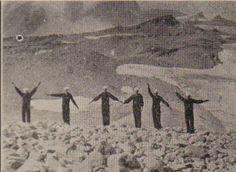 USS Arizona  1924 - Mt. Ranier Sightseeing Party