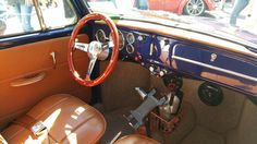 Maserati Cuoio inspired interior in my '67 Beetle