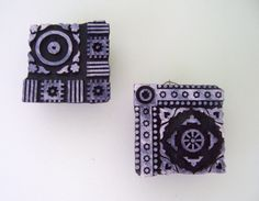 2 Hand Carved Antique India Wood Block Stamps,vintage home decor, wall hanging, industrial decor,primitive decor