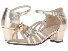 Pazitos Stardust Sandal (Little Kid/Big Kid) (Gold) Girls Shoes