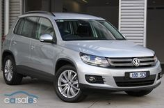 2013 Volkswagen Tiguan 5N 103TDI Pacific MY14 Direct-Shift Gearbox 4-Motion