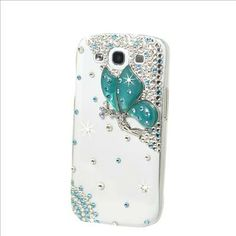 fairy phone case for galaxy s3 | ... blue butterfly Case Cover For Samsung Galaxy S3 III I9300 PC244