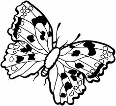 Disney Butterfly Coloring Pages