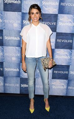 Nikki Reed at the People StyleWatch Denim event.