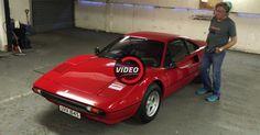 James May Uses His Ferrari 308 GTB To Mock Walkaround Videos #celebrities #Ferrari